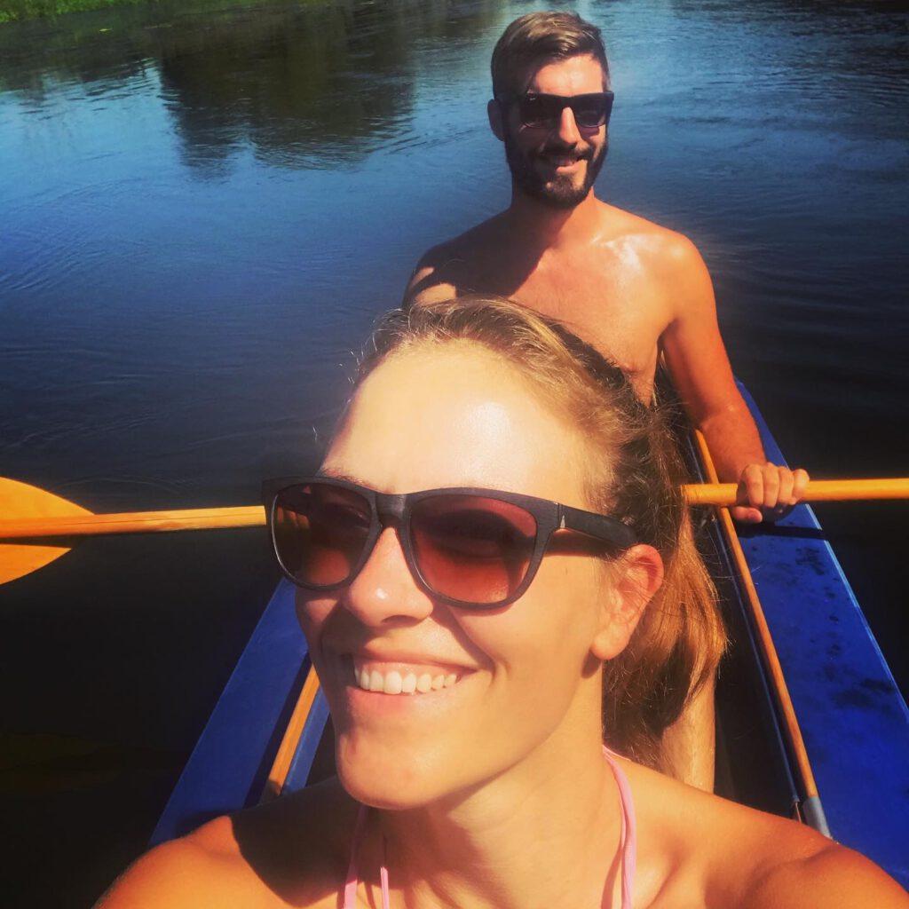 Faltboot fahren